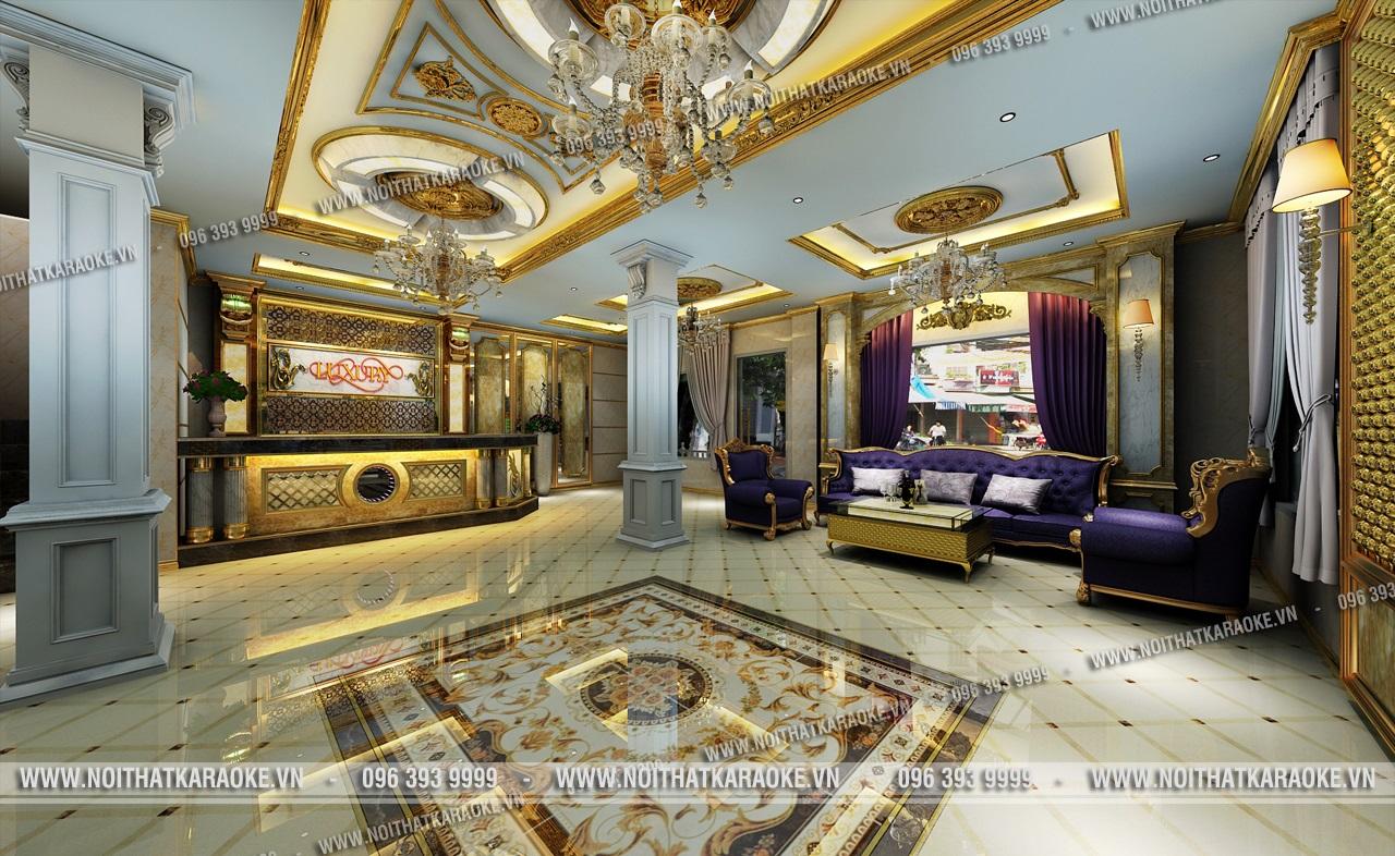 Sảnh karaoke Luxury Lai Châu