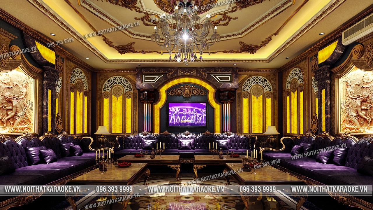 Thiết kế phòng karaoke Minh Thư Cao Bằng