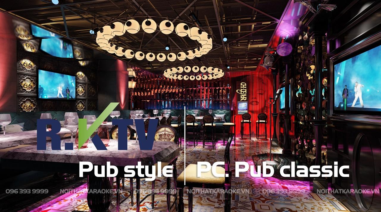 karaoke phong cách pub