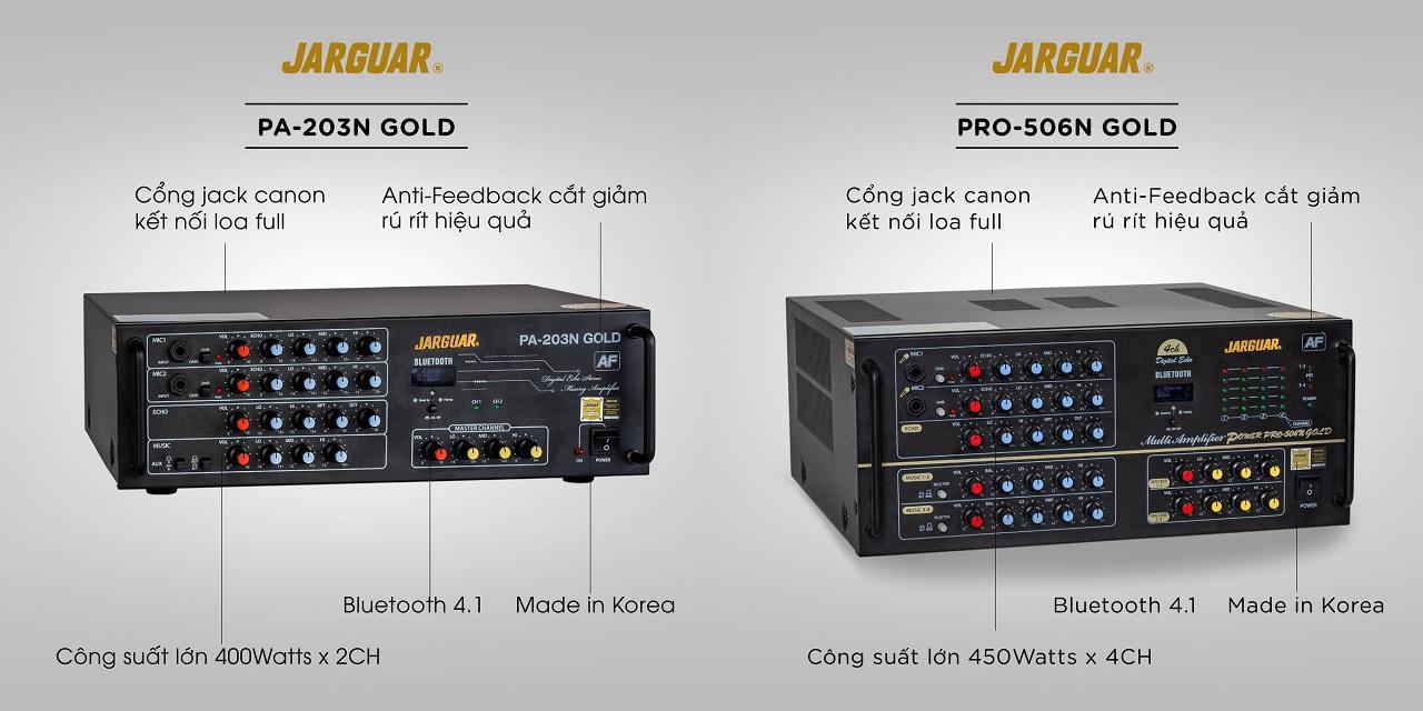 các dòng sản phẩm amply jaguar