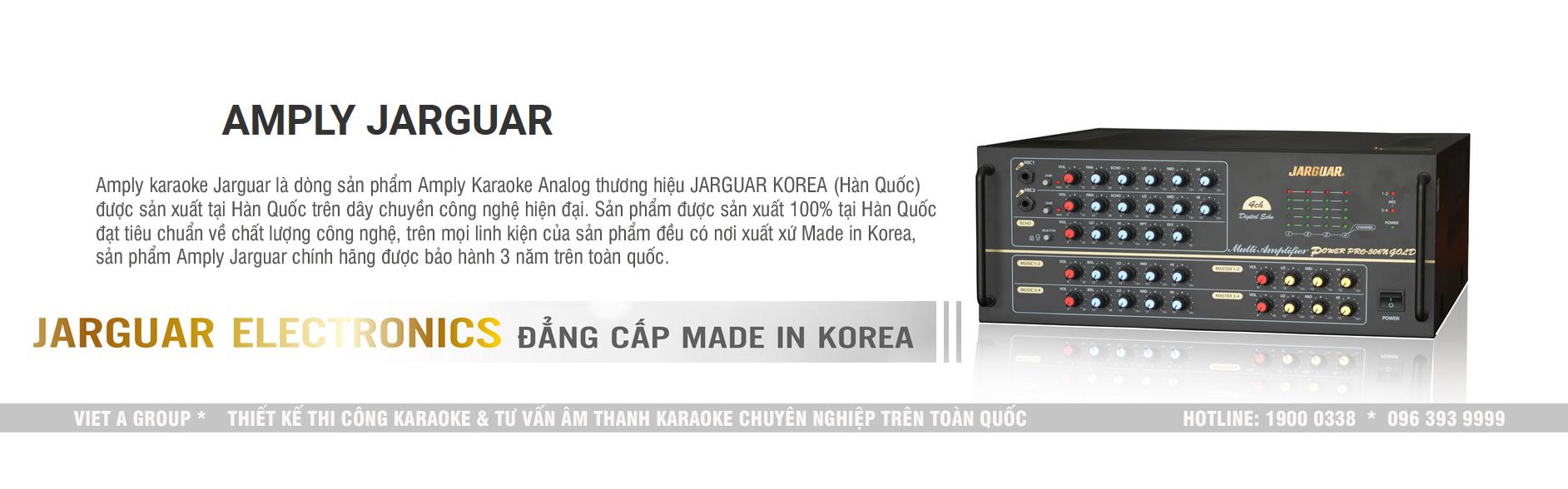 amply jaguar Hàn Quốc