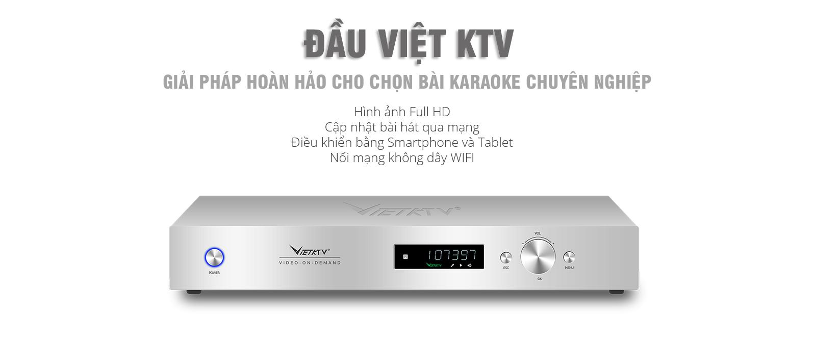 đầu chọn bài Việt Ktv