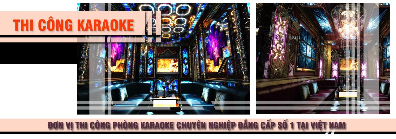 thi cong karaoke