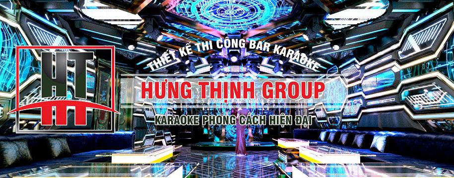 Phòng karaoke phong cách Hiện Đại sôi động ấn tượng