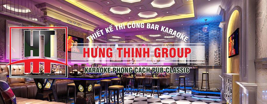 Phòng karaoke phong cách Pub Classic dành cho giới trẻ sành điệu
