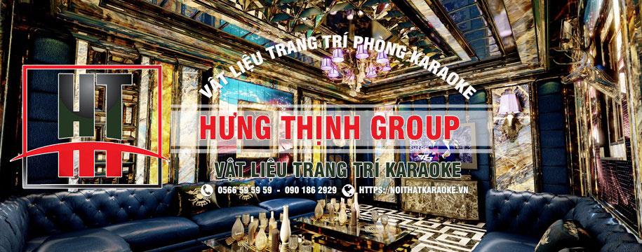 Vật liệu trang trí phòng karaoke nhập khẩu chất lượng giá rẻ nhất