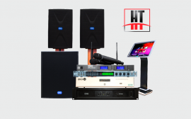 Dàn âm thanh karaoke loa DMX phòng 25 đến 30 m2 sàn