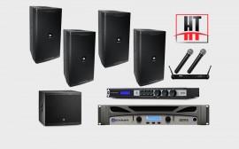 Dàn âm thanh karaoke loa JBL phòng 25 đến 30 m2 sàn