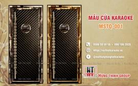 Cửa karaoke MSTQ 001