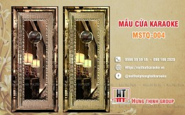 Cửa karaoke MSTQ 004