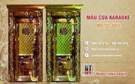 Cửa karaoke MSTQ 005