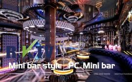 Mẫu phòng karaoke theo phong cách mini bar mới nhất