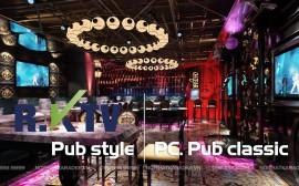 Thiết kế karaoke phong cách Pub Design độc đáo