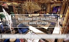 Mẫu sảnh, lễ tân, quầy bar, lễ tân đẳng cấp cho quán karaoke