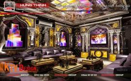 Mẫu phòng karaoke thiết kế theo phong cách Hoàng Gia