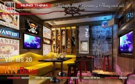 Mẫu phòng karaoke phong cách Pub ấn tượng nhất hiện nay