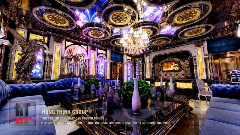 mẫu phòng hát hoàng gia đẹp