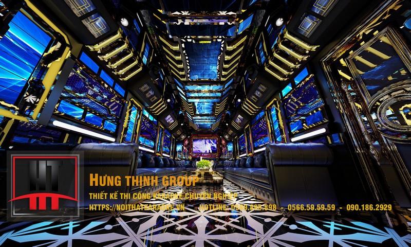 Phòng hát hiện đại siêu Vip MS 323