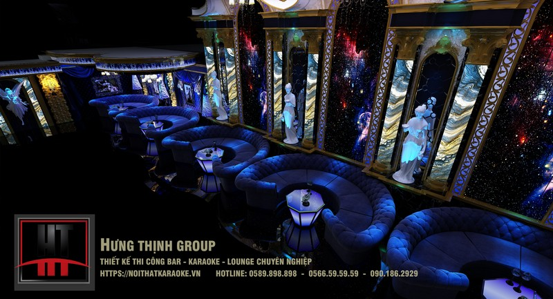 Bar Lounge chuyên nghiệp MS 126