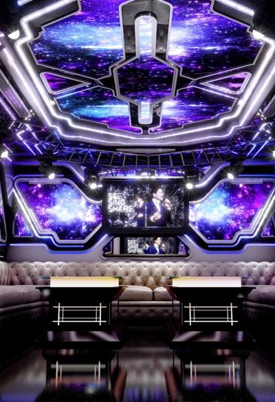 Mẫu phòng karaoke hiện đại MS 316