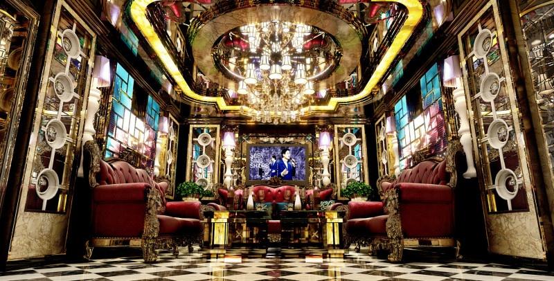 Phòng hát karaoke Luxury đẹp