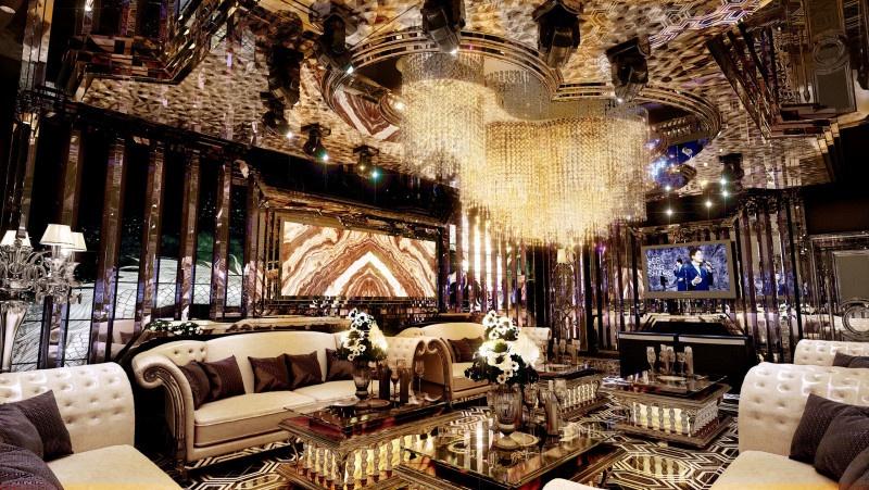 Thiết kế phòng karaoke phong cách Luxury vip