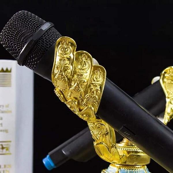 Chi tiết tay mic GCM 01