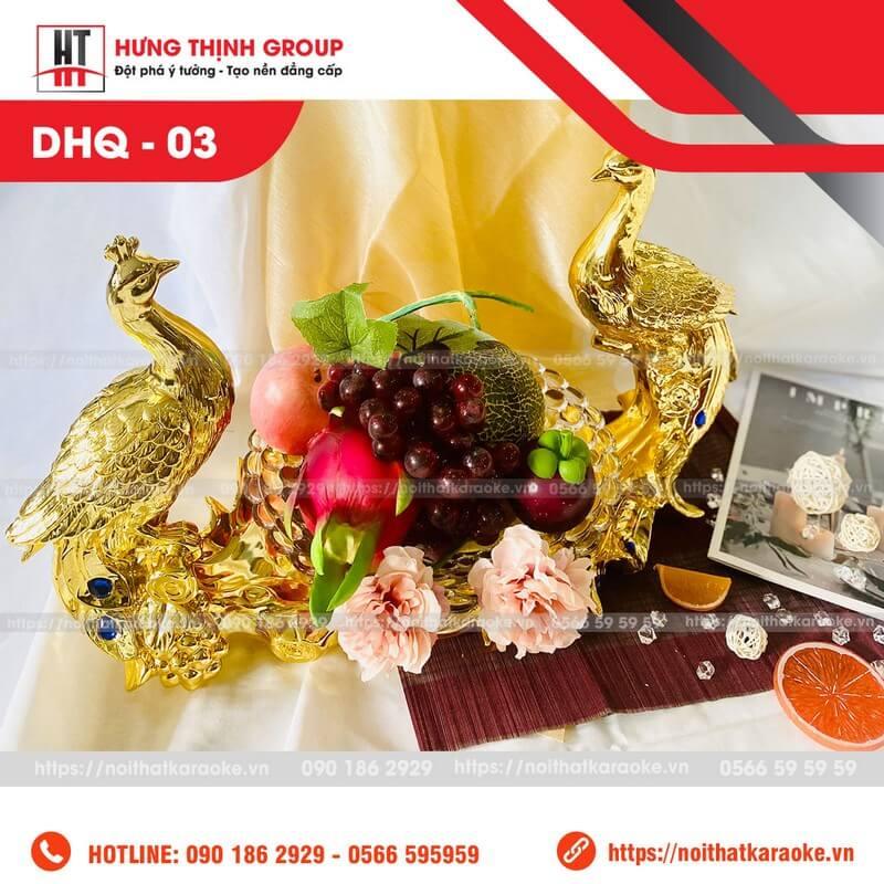 Dĩa trái cây karaoke DHQ 03