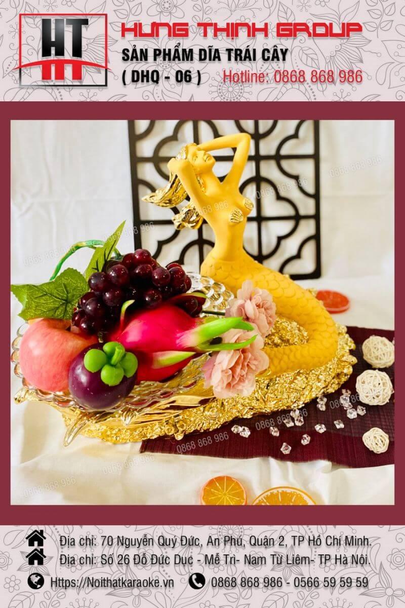 Đĩa trái cây DHQ 06