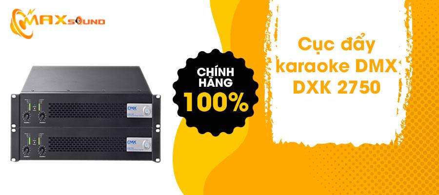 Cục đẩy DMX dùng cho cấu hình phòng karaoke 20 đến 25 m2 sàn