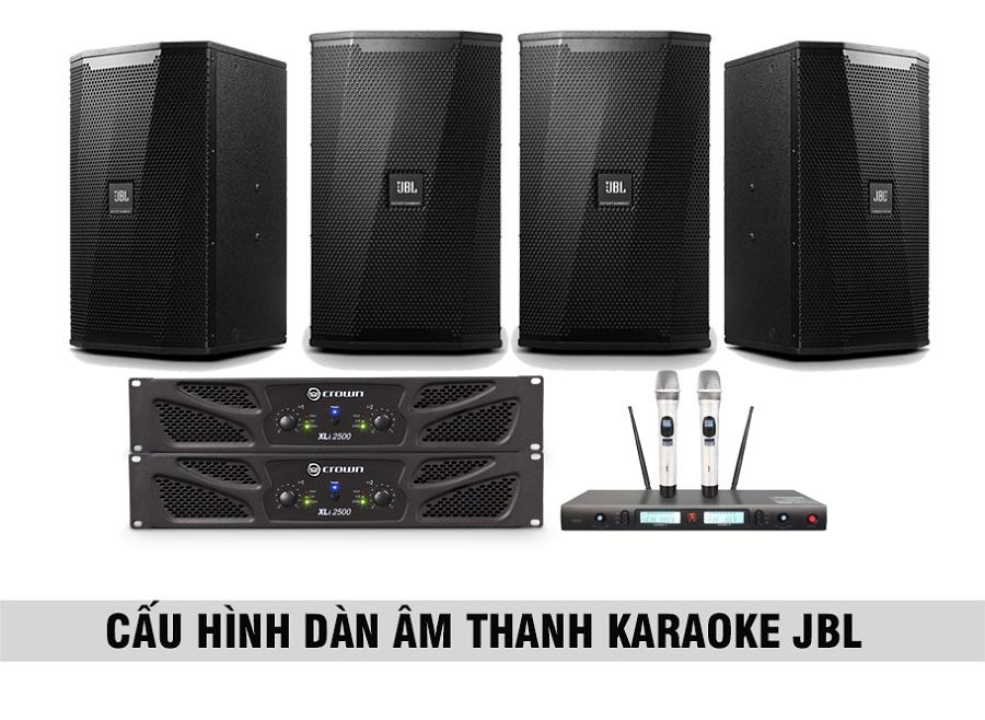 Combo cấu hình âm thanh jbl 20 đến 25 m2 sàn