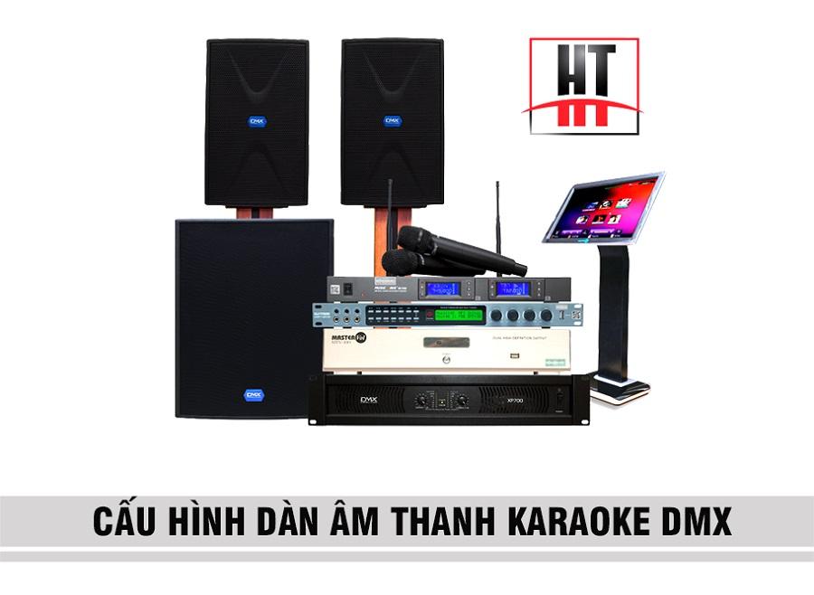 dàn âm thanh karaoke DMX