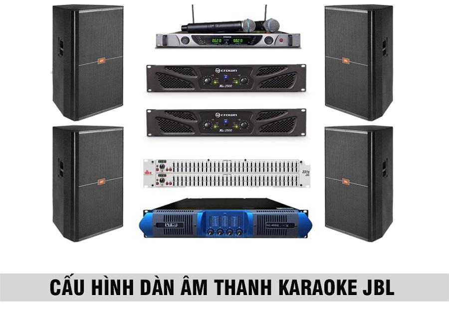 Combo loa karaoke JBL phòng 30 đến 35 m2