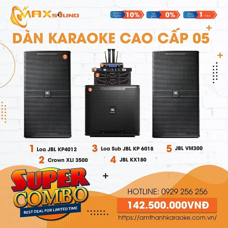 Combo dàn âm thanh karaoke chuyên nghiệp 05