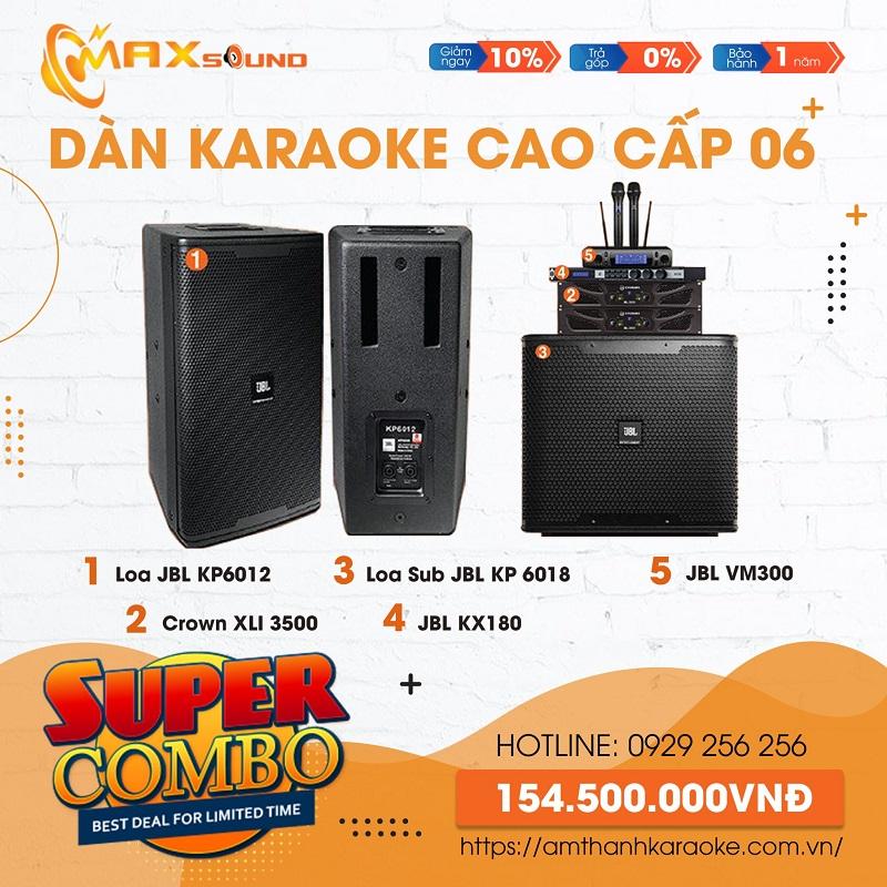 Combo dàn âm thanh karaoke chuyên nghiệp 06