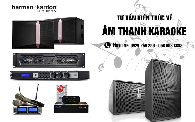 Tư vấn âm thanh karaoke