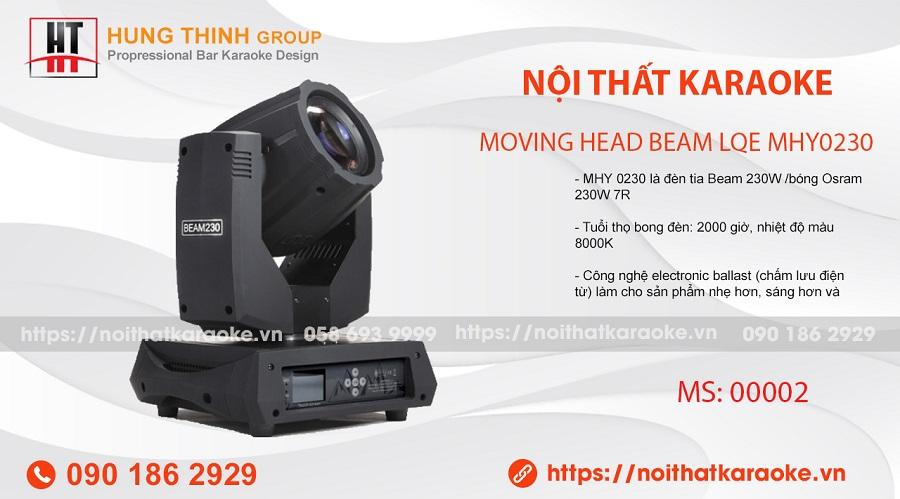 Đèn moving Head Beam Lqe MHY0230