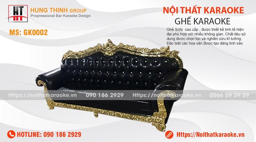 Ghế sofa tân cổ điển karaoke GK0002