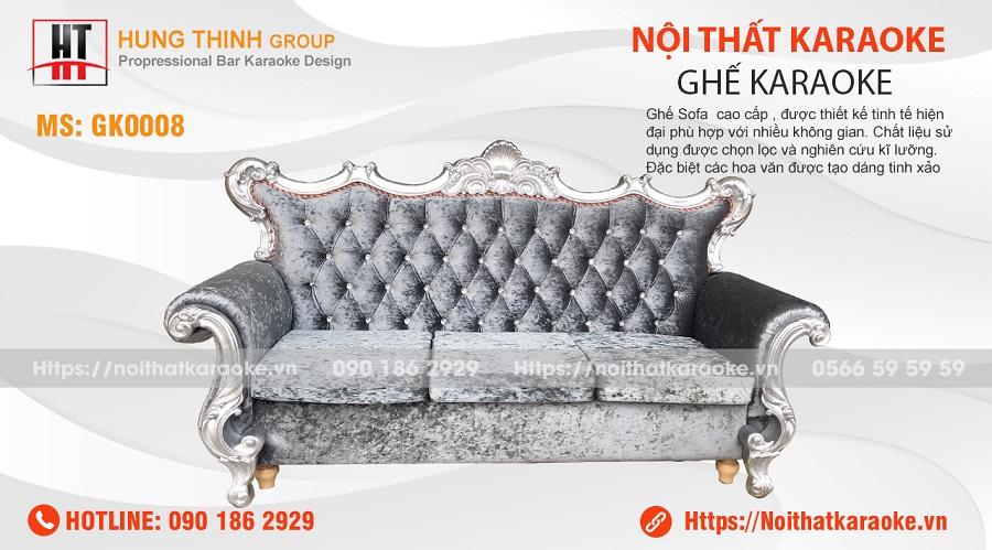 Ghế sofa tân cổ điển karaoke GK0008