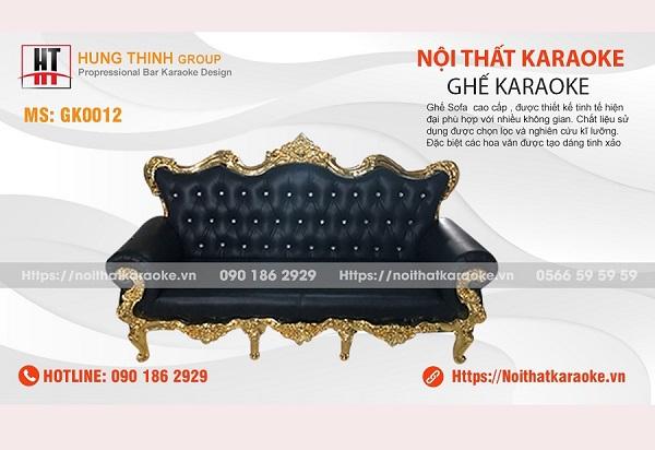 Ghế sofa tân cổ điển karaoke GK0012