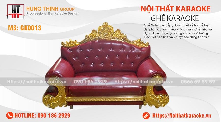 Ghế sofa karaoke GK0013