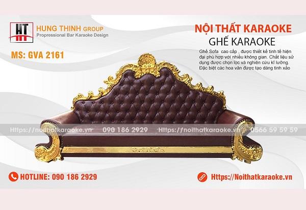 Ghế sofa karaoke tân cổ điển GVA 2161