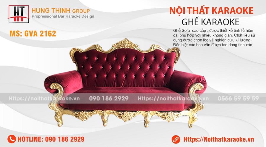 Ghế sofa karaoke tân cổ điển GVA 2162