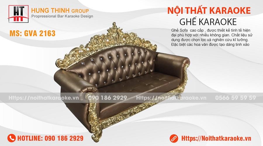 Ghế sofa tân cổ điển karaoke GVA 2163
