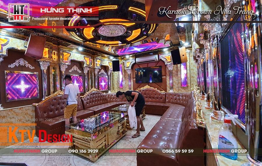 Phòng Vip 03 tại karaoke Crown Nha Trang