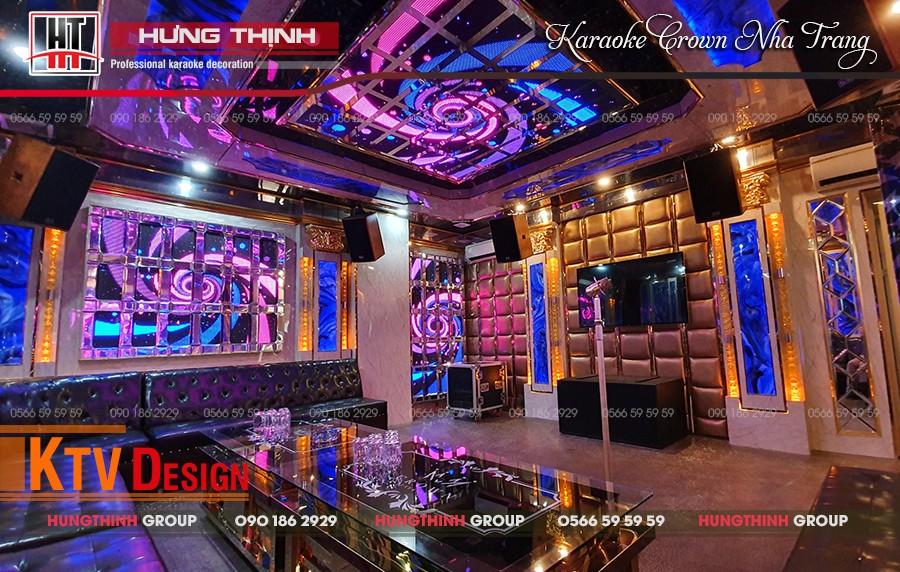 Phòng Vip 05 tại karaoke Crown Nha Trang