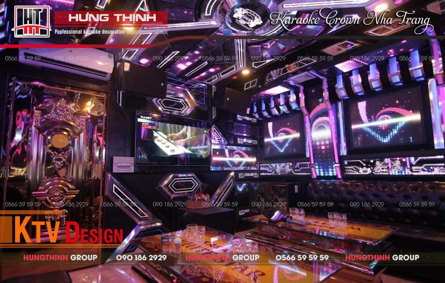 Vip 08 tại karaoke Crown
