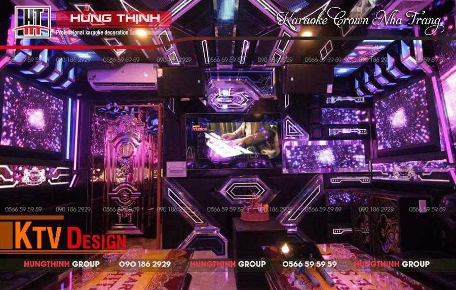 Phòng hát Vip 08 tại karaoke Crown