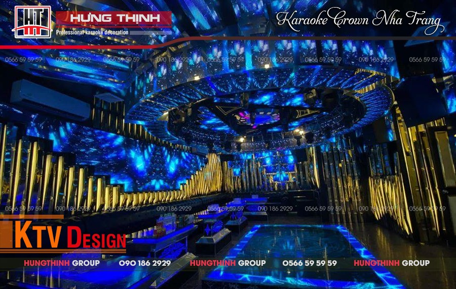 Phòng karaoke Vip 13 tại karaoke Crown