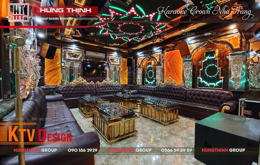 Phòng karaoke Vip 18 tại karaoke Crown